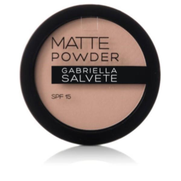 Gabriella Salvete Matte Powder Powder 8gr Spf15 01