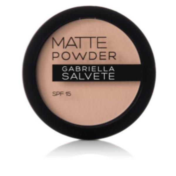 Gabriella Salvete Matte Powder Powder 8gr Spf15 02