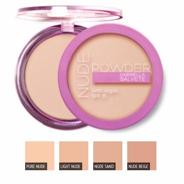 Gabriella Salvete Nude Powder Powder 8gr Spf15 03 Nude Sand oμορφια   μακιγιάζ   μακιγιάζ προσώπου   πούδρες προσώπου