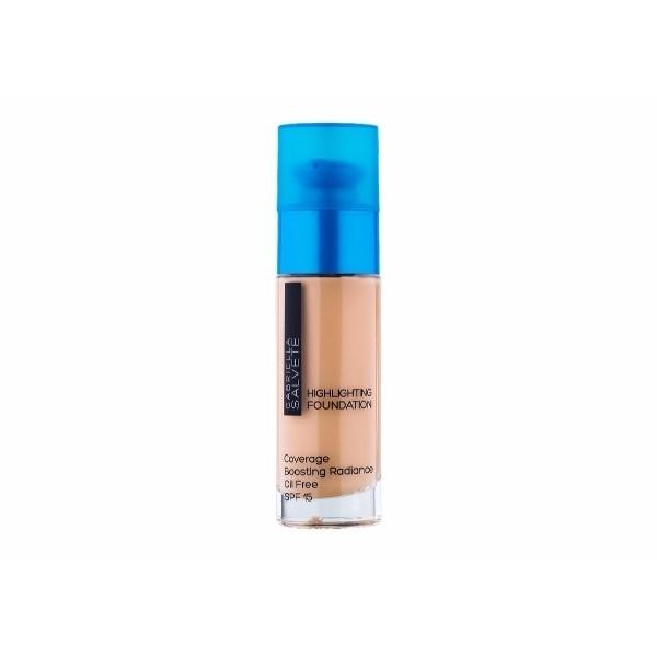 Gabriella Salvete Highlighting Foundation Makeup 30ml Spf15 104 Sand