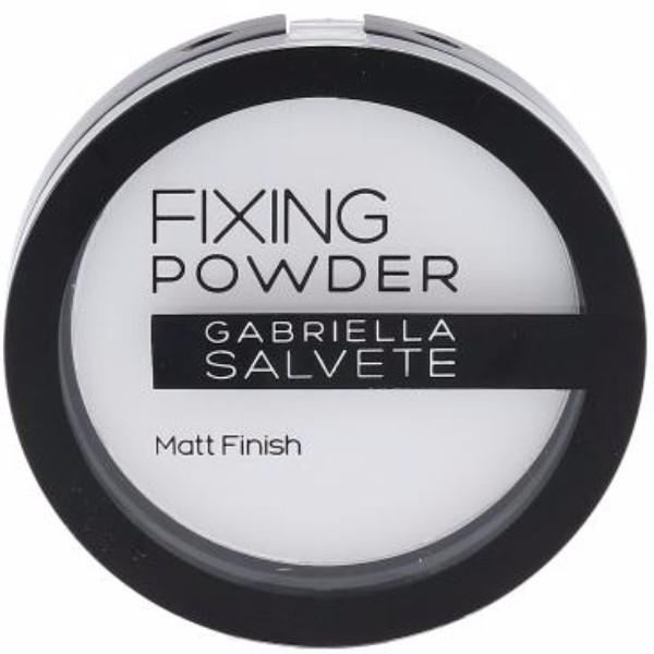 Gabriella Salvete Fixing Powder Powder 9gr Transparent oμορφια   μακιγιάζ   μακιγιάζ προσώπου   πούδρες προσώπου