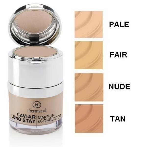 Dermacol Caviar Long Stay Make-up & Corrector Makeup 30ml 3 Nude