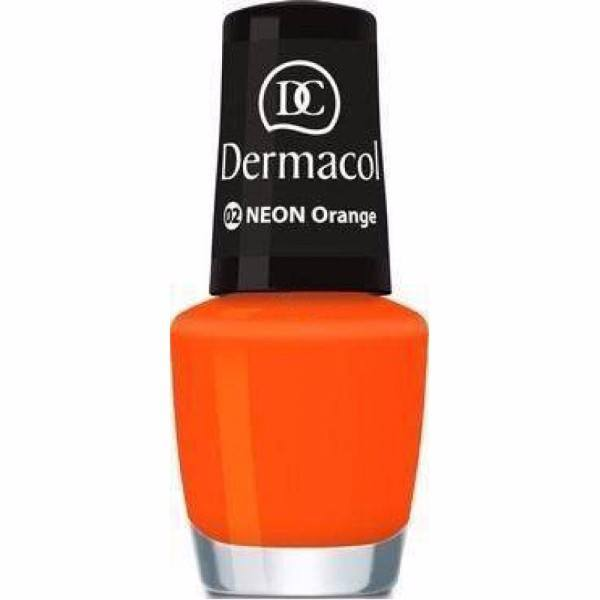 Dermacol Neon Polish 5ml 02 Orange