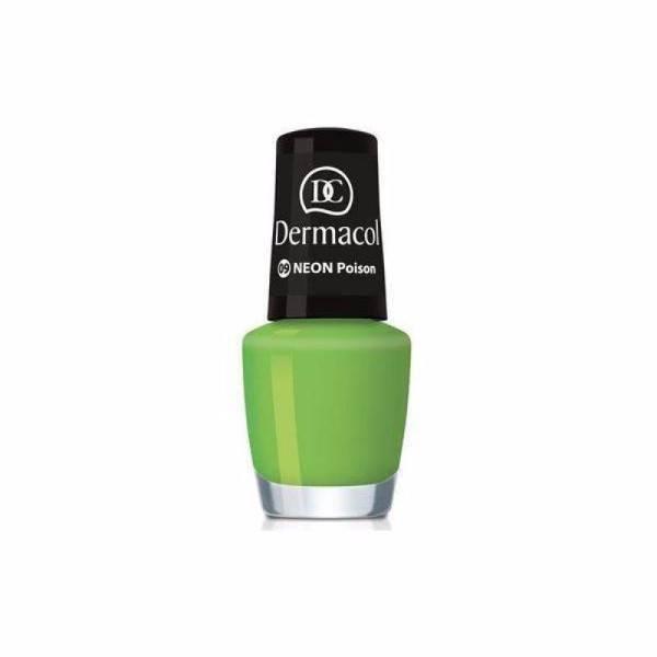 Dermacol Neon Nail Polish 5ml 09 Neon Poison oμορφια   μακιγιάζ   προϊόντα νυχιών   βερνίκια νυχιών