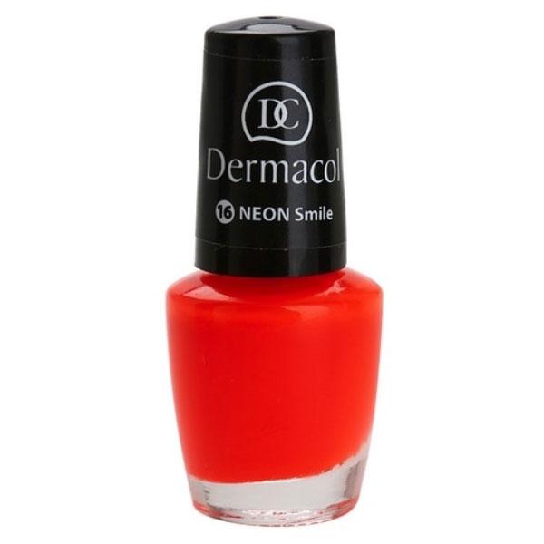 Dermacol Neon Nail Polish 5ml 16 Neon Smile oμορφια   μακιγιάζ   προϊόντα νυχιών   βερνίκια νυχιών