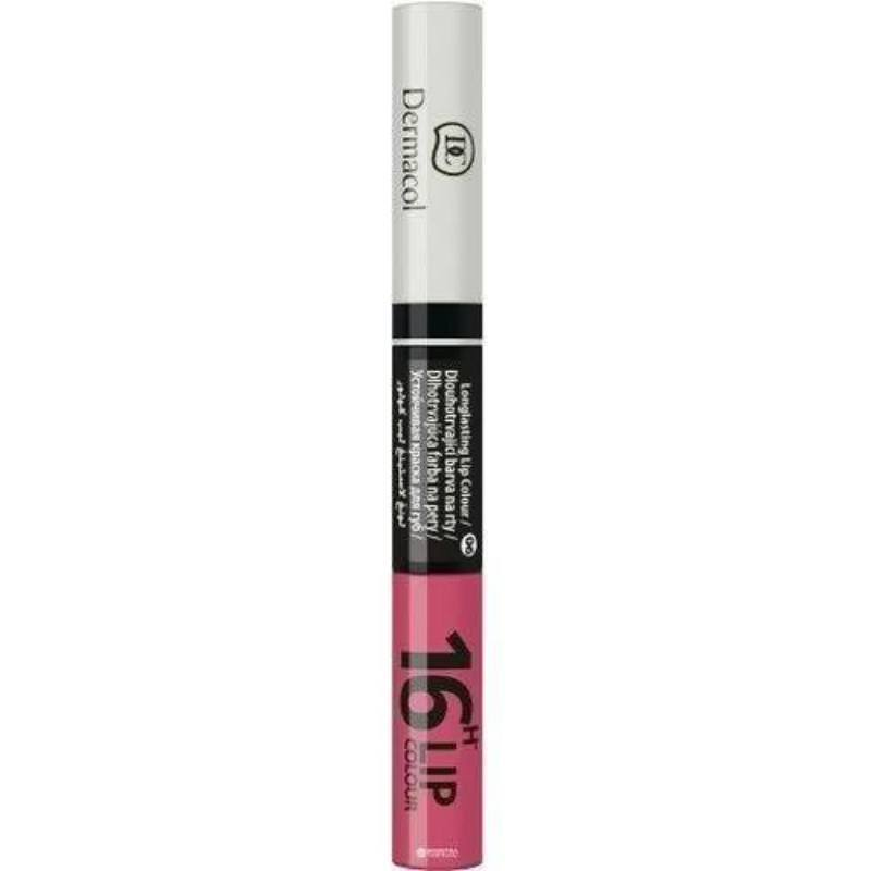 Dermacol 16h Lip Colour Lipstick 4,8gr 06 (Glossy) oμορφια   μακιγιάζ   μακιγιάζ χειλιών   lip gloss