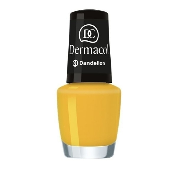 Dermacol Nail Polish Mini Summer Collection Nail Polish 5ml 01 Dandelion