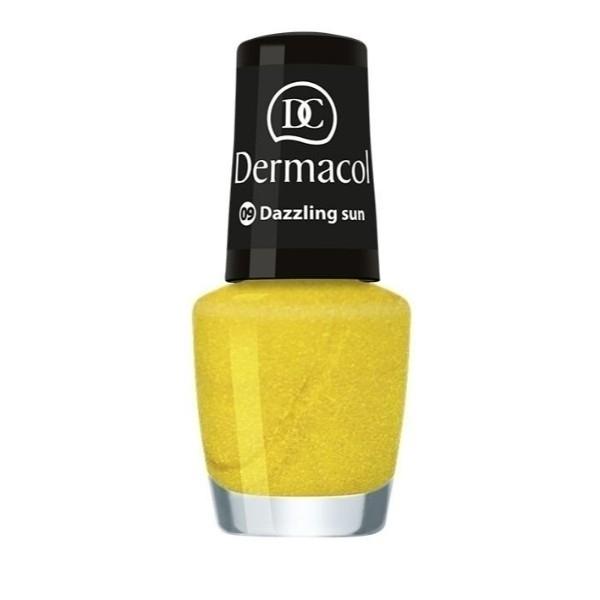 Dermacol Nail Polish Mini Summer Collection Nail Polish 5ml 09 Dazzling Sun oμορφια   μακιγιάζ   προϊόντα νυχιών   βερνίκια νυχιών