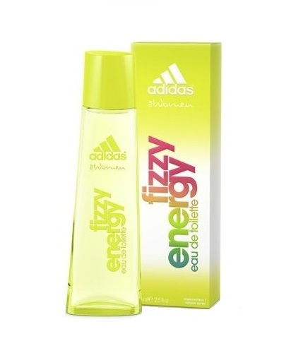 Adidas Fizzy Energy Eau De Toilette 75ml
