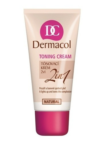 Dermacol Toning Cream 2In1-Natural 30ml Fortural