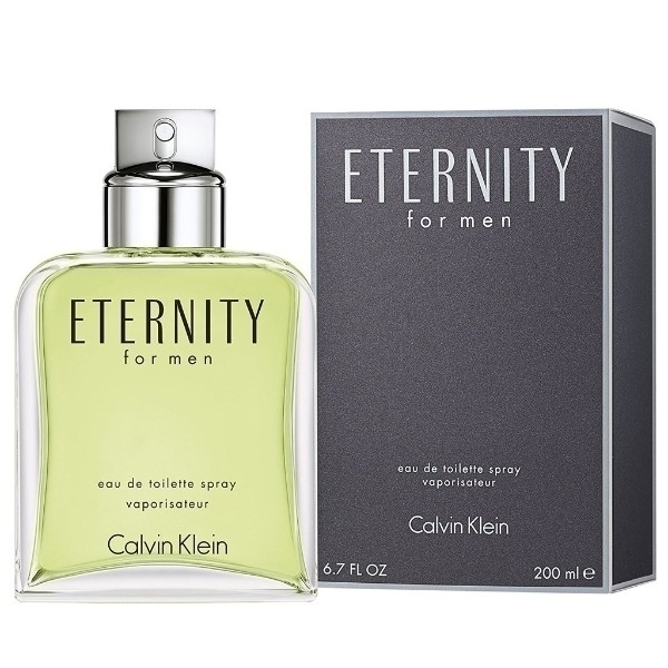 Calvin Klein Eternity Eau De Toilette 200ml For Men