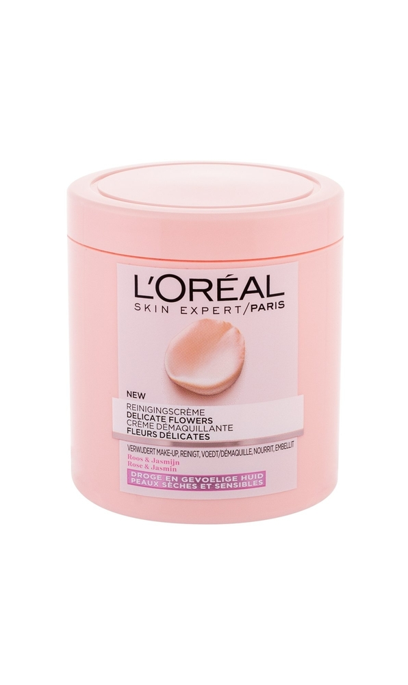 L/oreal Paris Fine Flowers Cleansing Cream 200ml (Dry - All Skin Types)
