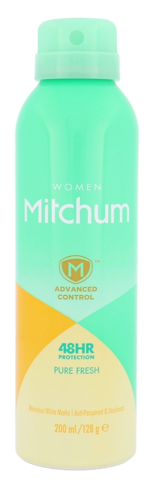 Mitchum Advanced Control Pure Fresh Antiperspirant 200ml Alcohol Free 48hr (Deo Spray)