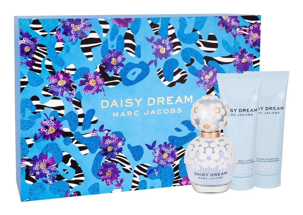Marc Jacobs Daisy Dream Eau De Toilette 50ml Combo: Edt 50ml + 75ml Body Milk + 75ml Shower Gel