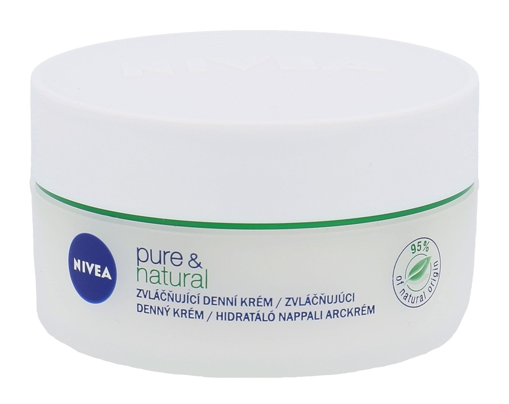 Nivea Pure & Natural Day Cream 50ml (All Skin Types - For All Ages)