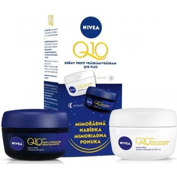 Nivea Q10 Plus Day Cream 50ml Combo: 50ml Q10 Plus Day Cream + 50ml Q10 Plus Night Cream (Normal - Dry - Wrinkles)