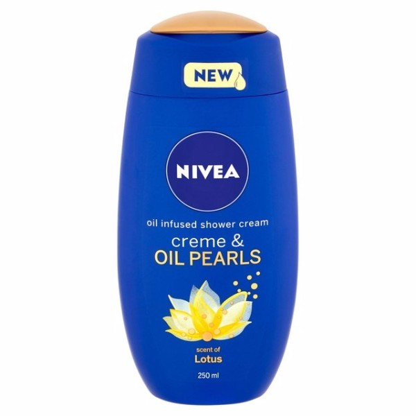 Nivea Creme Oil Pearls Lotus Shower Gel 250ml