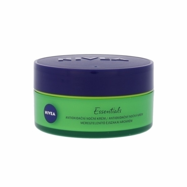 Nivea Essentials Urban Skin Detox Night Skin Cream 50ml (All Skin Types - For All Ages)