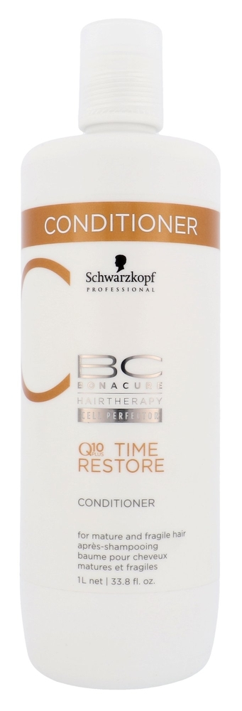 Schwarzkopf Bc Bonacure Q10 Time Restore Conditioner 1000ml (Weak Hair - Mature Hair)
