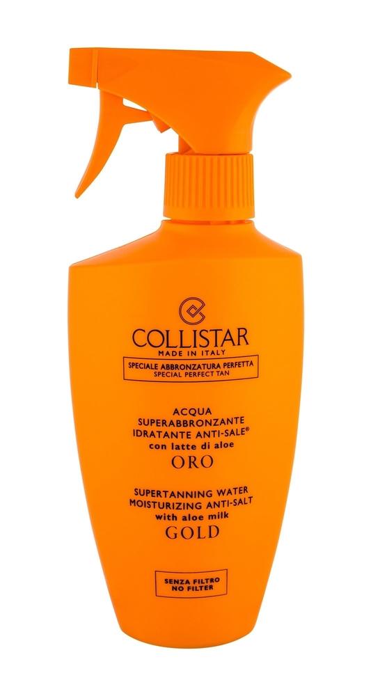 Collistar Special Perfect Tan Supertanning Water Moisturizing Anti-salt Gold Sun Body Lotion 400ml