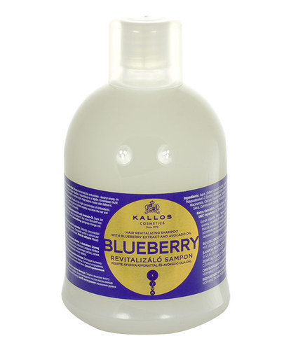 Kallos Blueberry Hair Shampoo 1000ml