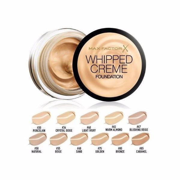 Max Factor Whipped Creme Makeup 18ml 80 Bronze