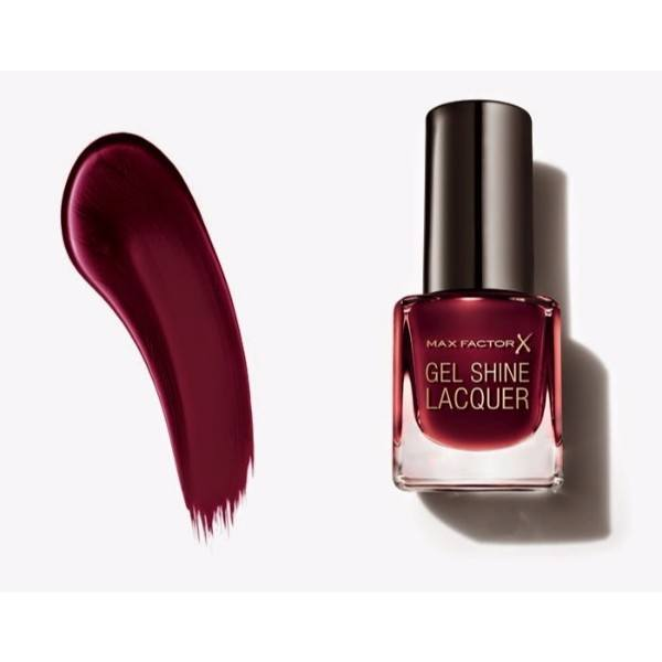 MAX FACTOR Gel Shine Lacquer 60 Sheen Merlot 11ml