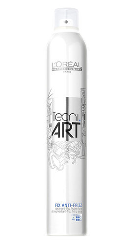 L/oreal Professionnel Tecni.art Fix Anti-frizz Hair Spray 250ml (Strong Fixation)