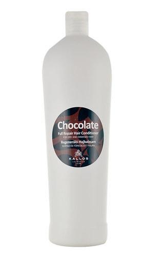 KALLOS Chocolate Full Repair Hair Conditioner intensywna regenewrujaca odzywka czekoladowa do wlosow suchych i lamiacych sie 1000ml