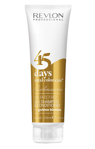 Revlonissimo 45 Days 2in1 Shampoo & Conditioner For Golden Blondes 275ml