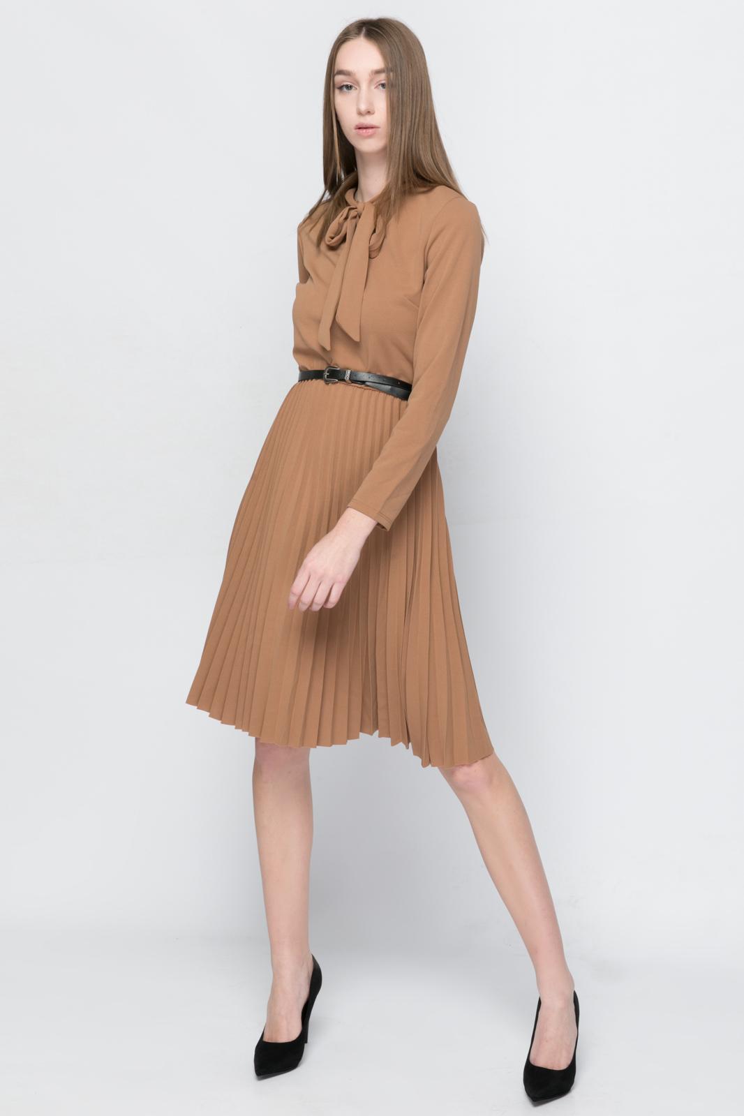 1cc8aea224af Μίντι Φόρεμα με Ζώνη