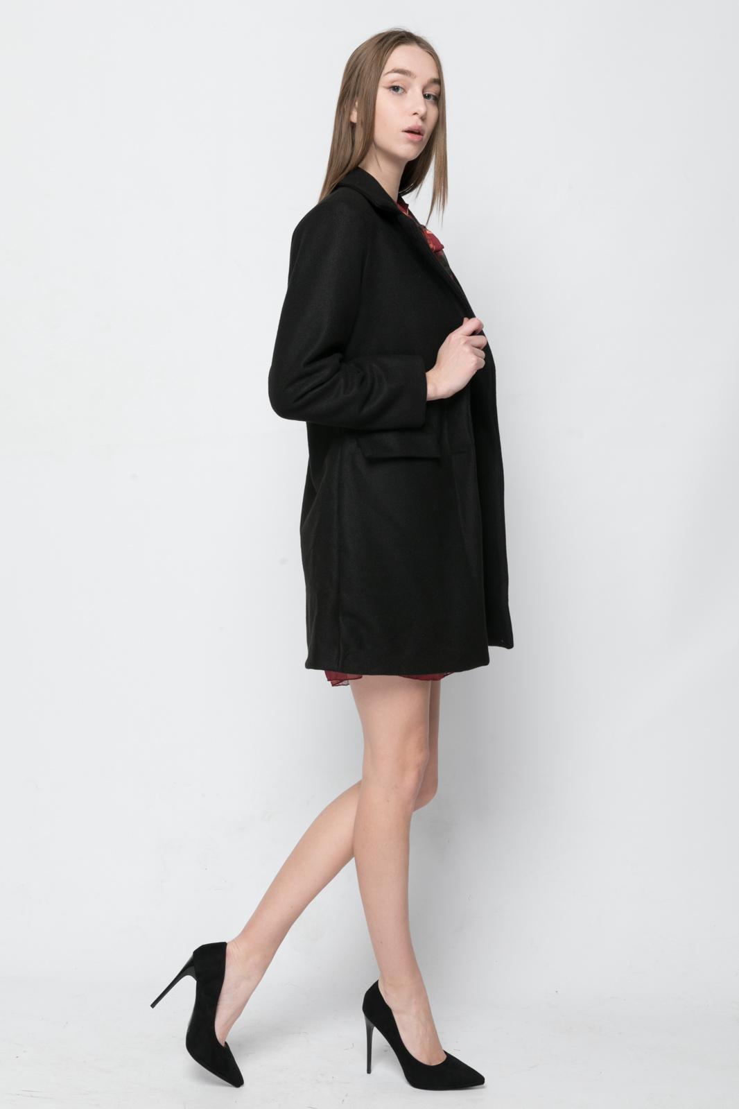 Γυναικείο Παλτό - Μαύρο