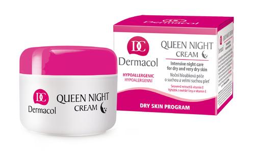 Dermacol Queen Night Cream 50ml oμορφια   πρόσωπο   κρέμες προσώπου