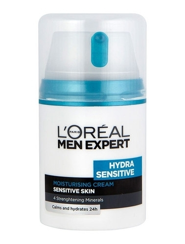 Loreal Paris Men Expert Hydra Sensitive Moisturising Cream 50Ml