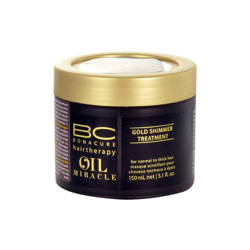 Schwarzkopf BC Oil Miracle Gold Shimmer Treatment Thick Hair 150ml