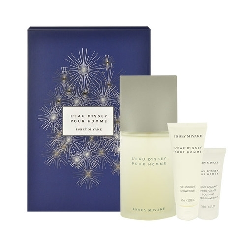 Issey Miyake L/eau D/issey Pour Homme Eau De Toilette 125ml Combo: Edt 125ml + 75ml Shower Gel + 50ml Aftershave Balm