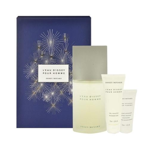 Issey Miyake L/eau D/issey Pour Homme Eau De Toilette 125ml Combo: Edt 125ml + 75ml Shower Gel + 50ml Aftershave Balm