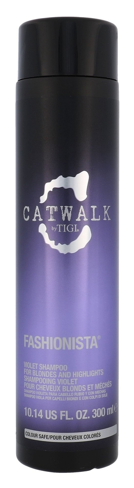 Tigi Catwalk Fashionista Violet Shampoo 300ml (Blonde Hair)