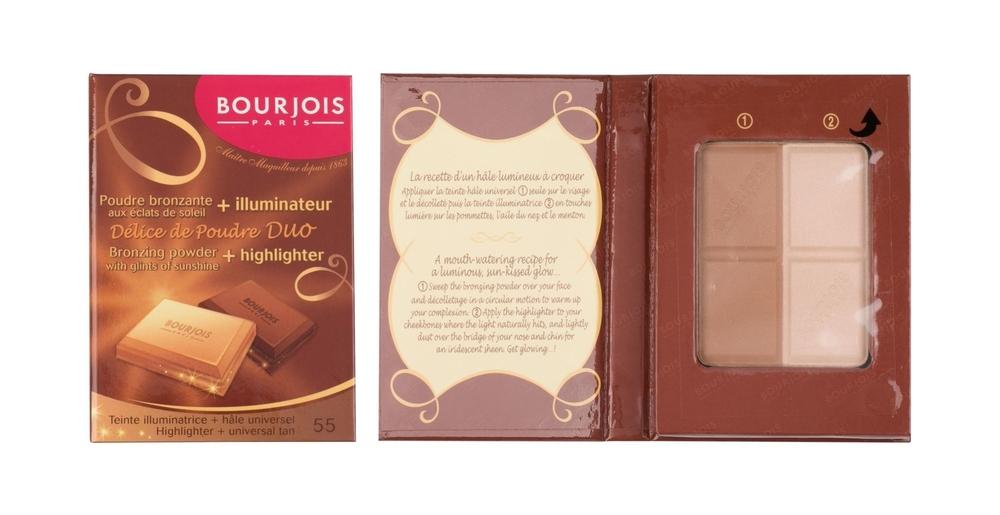 Bourjois Paris Delice De Poudre Duo Bronzer 16,5gr 55