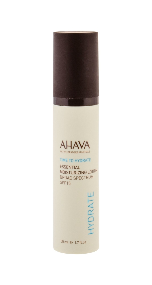 Ahava Essentials Time To Hydrate Facial Lotion 50ml Spf15 (All Skin Types)