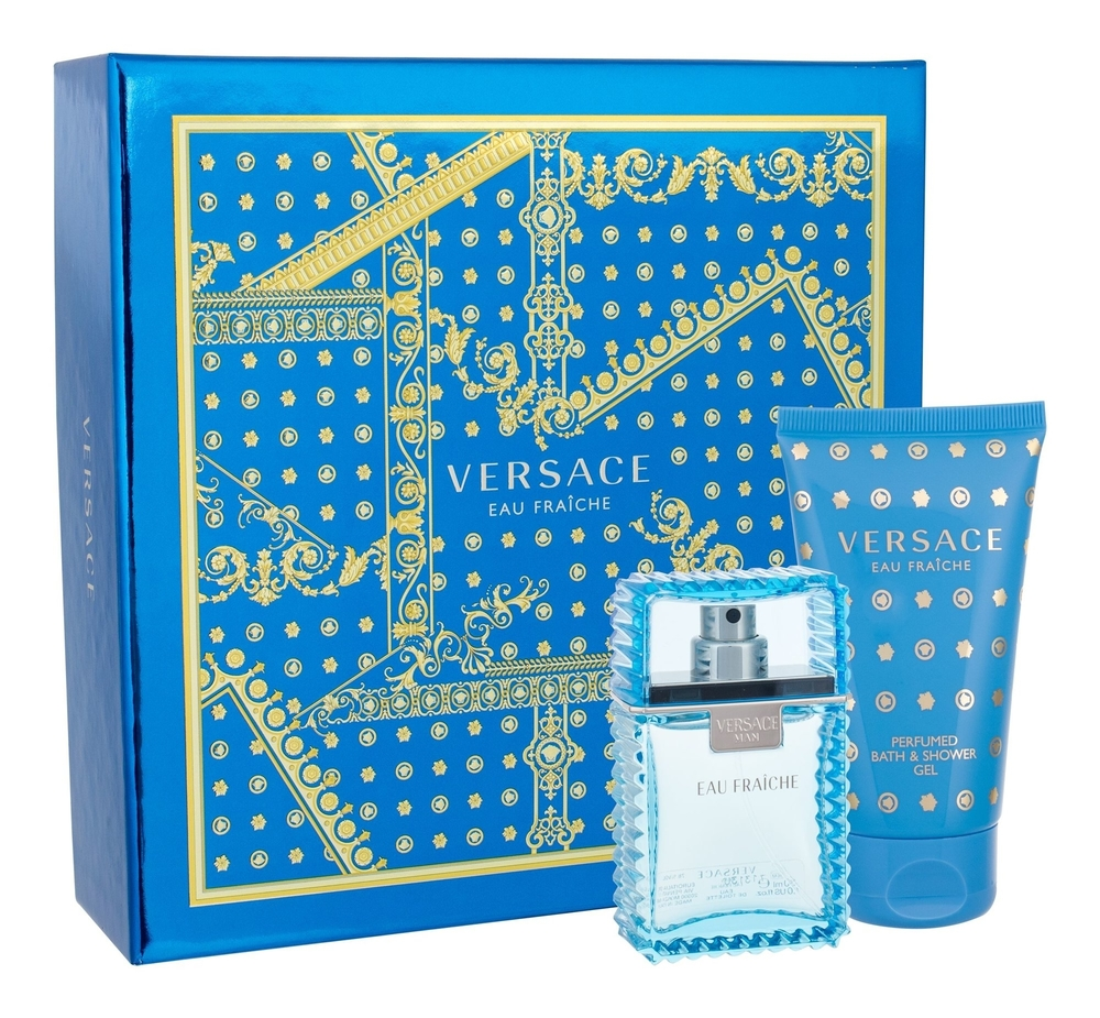 Versace Man Eau Fraiche Eau De Toilette 30ml Combo: Edt 30ml + 50ml Shower Gel