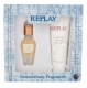 Replay Jeans Original! For Her Eau De Toilette 20ml Combo: Edt 20 Ml + Body Lotion 100 Ml