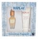 Replay Jeans Original! For Her Eau De Toilette 20ml Combo: Edt 20 Ml + Body Lotion 100 Ml