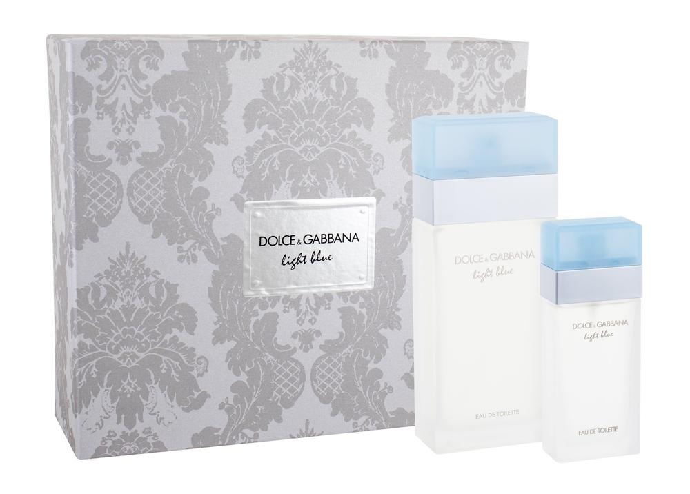 Dolce&gabbana Light Blue Eau De Toilette 100ml Combo: Edt 100ml + 25ml Edt