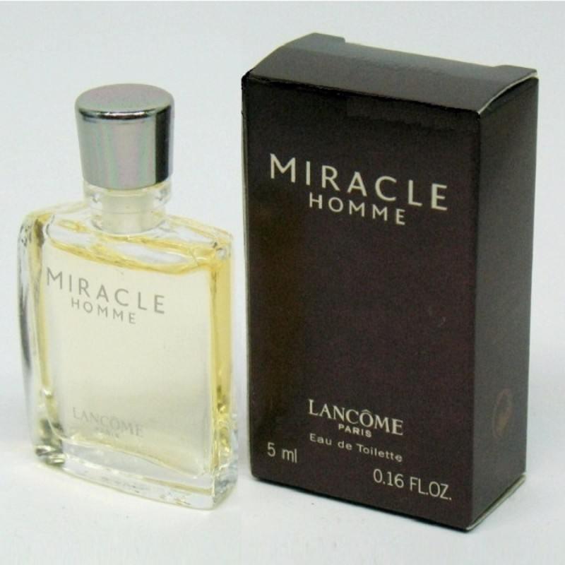Lancome Miracle Homme Eau De Toilette Mini 5ml oμορφια   αρώματα   μίνι αρώματα