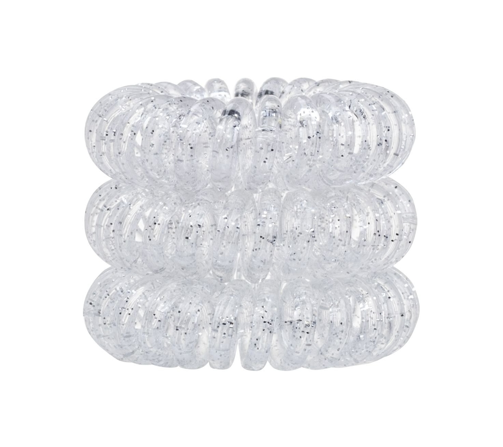 Invisibobble The Traceless Hair Ring Hair Ring 3pc Sparkling Clear