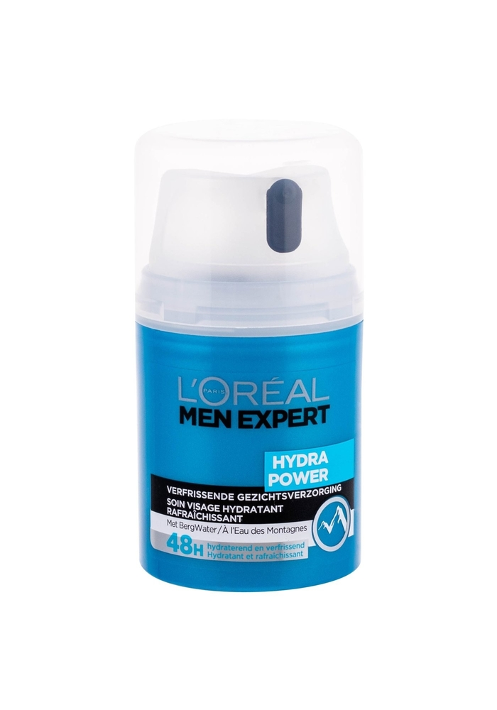 L/oreal Paris Men Expert Hydra Power Facial Gel 50ml (All Skin Types - For All Ages)