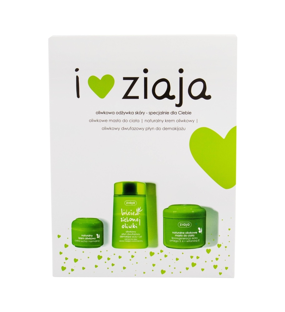 Ziaja Natural Olive Day Cream 50ml (Normal - Dry - For All Ages)