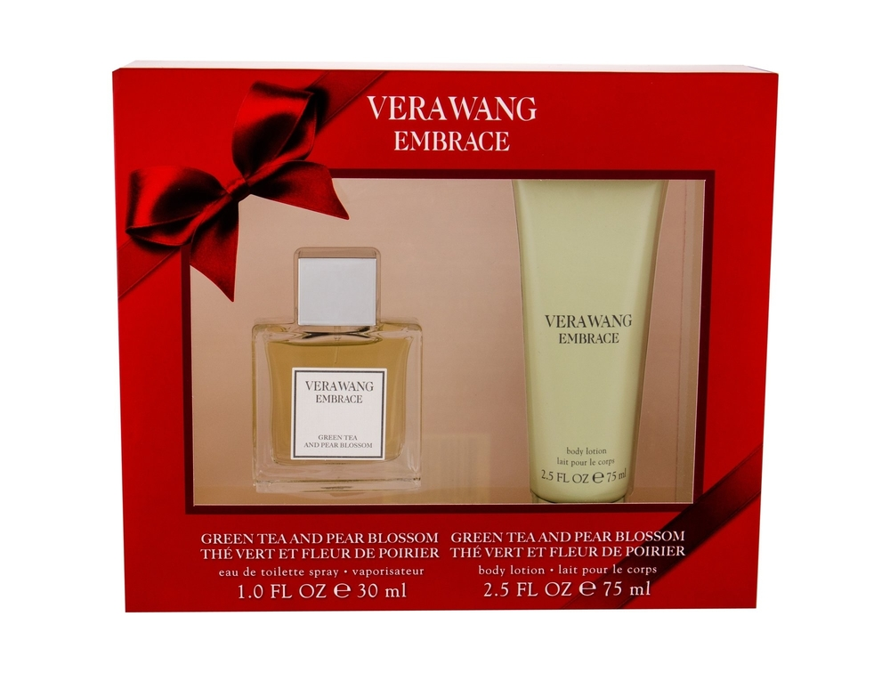 Vera Wang Embrace Grean Tea And Pear Blossom Eau De Toilette 30ml - Set