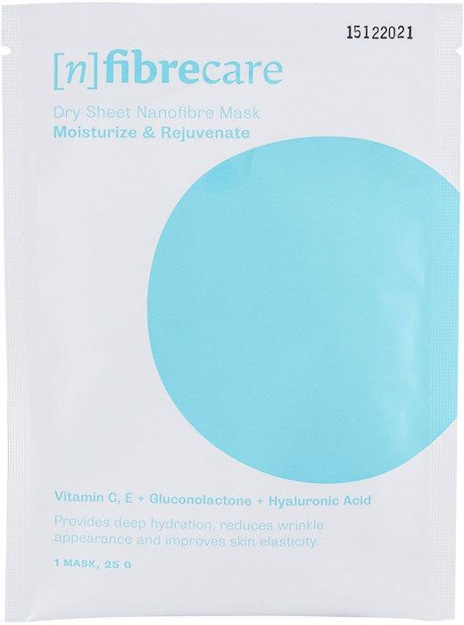 [n]fibrecare Nanofibre Face Mask Moisturize & Rejuvenate Face Mask 1pc (For All Ages)